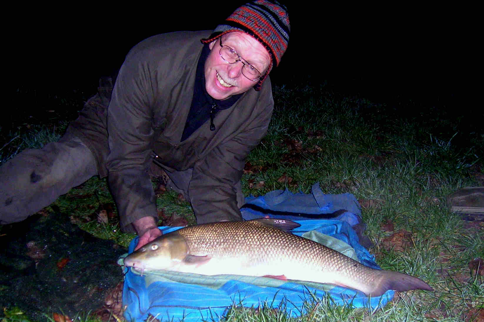 Ron with Barbel